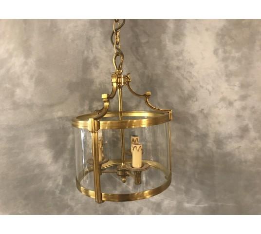 Lanternes en bronze doré de style Louis XVI