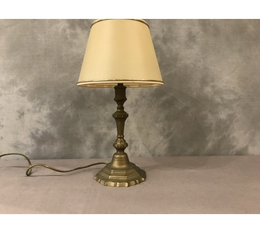 Period brass lamp 19 th