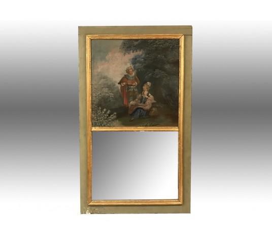 Beau petit trumeau d'époque Louis XVI 18ème